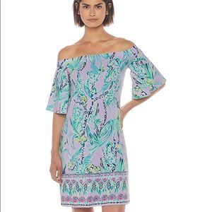 Lily Pulitzer Fawcett Dress Lilac